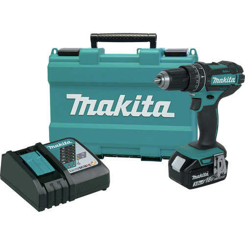 Factory Reconditioned Makita XPH102-R 18V LXT Lithium-Ion Cordless 1/2 in. Hammer Driver-Drill Kit