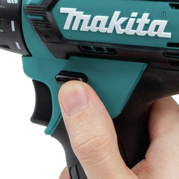 Makita FD10R1 12V max CXT Lithium-Ion Hex Brushless 1/4 in. Cordless Drill Driver Kit (2 Ah) image number 6