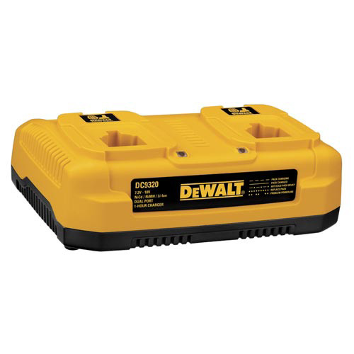 Dewalt DC9320 7.2V - 18V Multi-Voltage Dual Port Charger