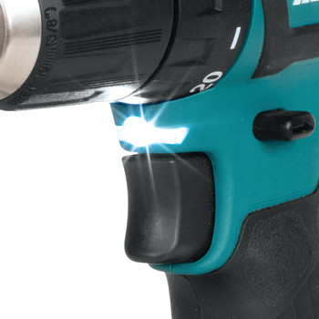 Makita FD07R1 12V max CXT Lithium-Ion Brushless 3/8 in. Cordless Drill Driver Kit (2 Ah) image number 5