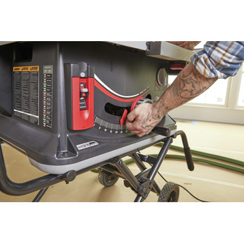 SawStop JSS-120A60 15 Amp 60Hz Jobsite Saw PRO with Mobile Cart Assembly image number 18