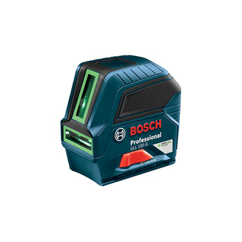 Bosch GLL100G Green Beam Self-Leveling Cross Line Laser image number 0