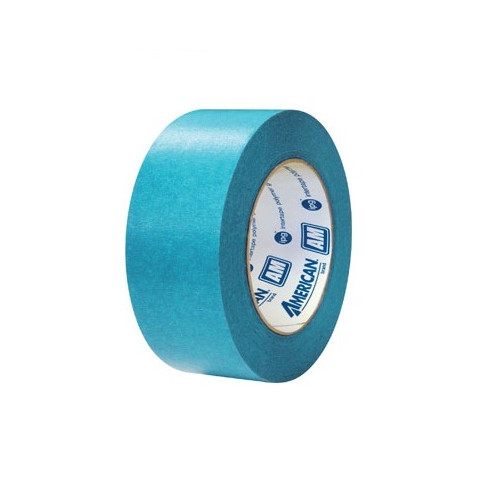 American Tape AM-2 2 in. Aqua Mask Masking Tape image number 0