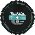 Makita A-94770 10 in. 80 Tooth Premium Fine Crosscutting Miter Saw Blade