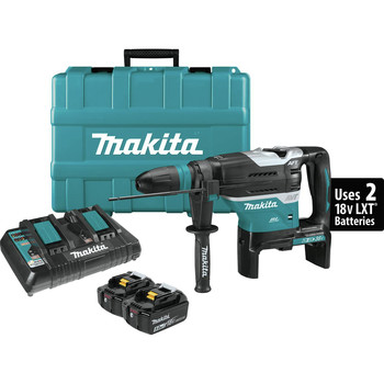 Makita XRH07PTUN 18V X2 LXT Lithium-Ion (36V) Brushless Cordless 1-9/16 in. Advanced AVT Rotary Hammer Kit (5 Ah) image number 0