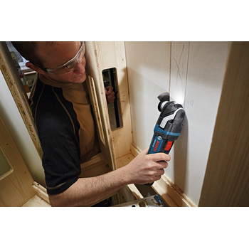 Bosch GOP18V-28N 18V EC Cordless Lithium-Ion Brushless StarlockPlus Oscillating Multi-Tool (Tool Only) image number 3