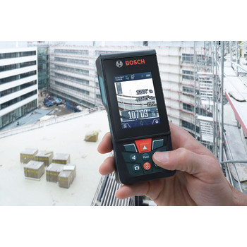 Bosch GLM400CL BLAZE Outdoor 400 Ft. Connected Lithium-Ion Laser Measure with Camera image number 1
