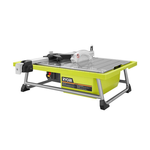 Factory Reconditioned Ryobi ZRWS722 7 in. Portable Wet Tile Saw