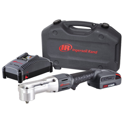 Ingersoll Rand W5330-K12 20V Cordless Lithium-Ion 3/8 in. Right Angle Impact Wrench with 1 Battery