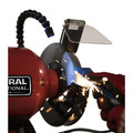 General International BG6001 6 in. 2A Bench Grinder with Twin LED Flexi Work Lights image number 3
