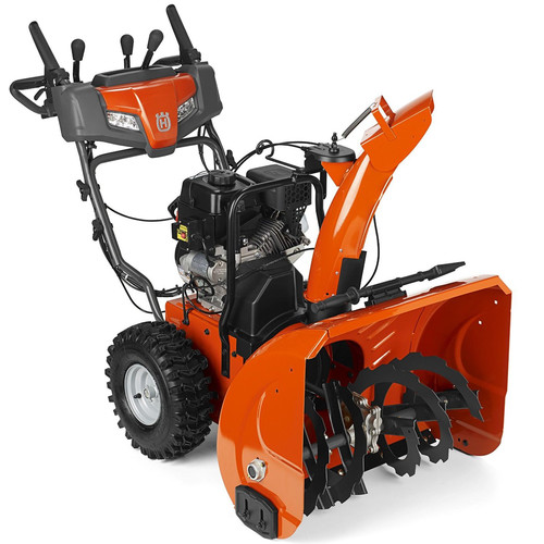 Husqvarna ST224P 208cc Gas 24 in. 2-Stage Electric Start Snow Blower with Power Steering