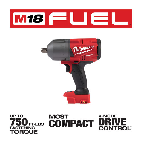 -Torque 1800 in lbs Bare Tool Milwaukee 2853-20 M18 FUEL 1//4 Hex impact Driver