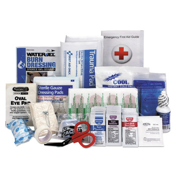 First Aid Only 90583 89-Piece ANSI 2015 Compliant Class A First Aid Kit Refill for 25 People