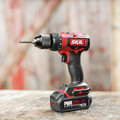 Skil DL529303 PWRCore 20 20V Brushless Lithium-Ion 1/2 in. Cordless Drill Driver Kit (2 Ah) image number 5