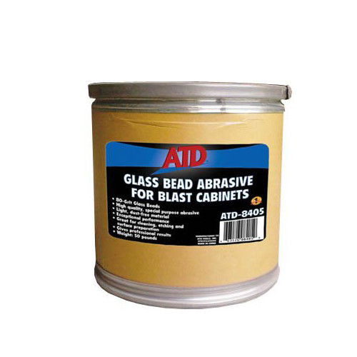 ATD 8405 Glass Bead Abrasive for Blast Cabinets image number 0