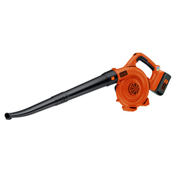 Black & Decker LSW36 40V MAX Cordless Lithium-Ion Variable-Speed Handheld Sweeper image number 1