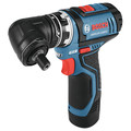 Bosch GSR12V-140FCB22 12V Max Lithium-Ion FlexiClick 5-in-1 1/4 in. Cordless Drill Driver System Kit (2 Ah) image number 9