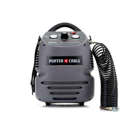 Porter Cable Cmb15 08 Hp 15 Gallon Oil Free Fully Shrouded Hand