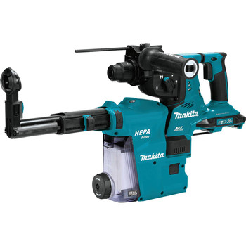 Makita XRH10ZW 18V X2 LXT (36V) Brushless Cordless 1-1/8 in. AVT Rotary Hammer, accepts SDS-PLUS bits with Extractor, AFT, AWS Capable (Tool Only) image number 0