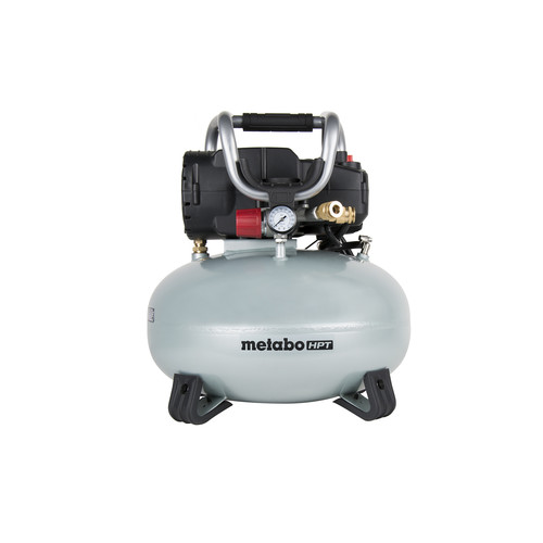 Metabo HPT EC710SM Portable 6 Gallon Oil-Free Pancake Air Compressor image number 0