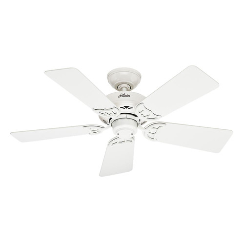 Hunter 52065 42 in. Hudson White Ceiling Fan