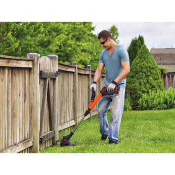 Factory Reconditioned Black & Decker LST522R 20V MAX 2.5 Ah Cordless Lithium-Ion 12 in. 2-Speed String Trimmer/Edger Kit image number 3