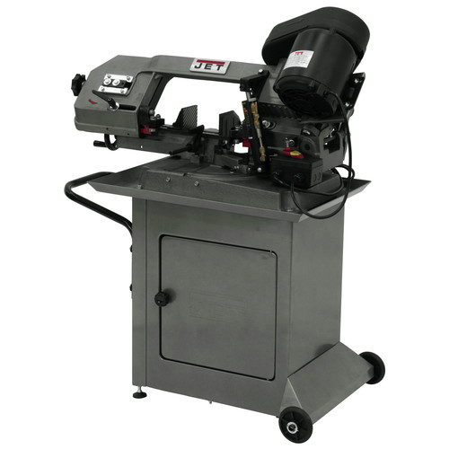 JET HBS-56S 5 in. x 6 in. 1/2 HP 1-Phase Swivel Head Horizontal Band Saw image number 0
