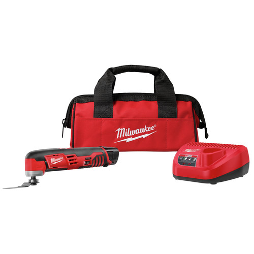 Factory Reconditioned Milwaukee 2426-81 M12 12V Cordless Lithium-Ion Oscillating Multi-Tool Kit