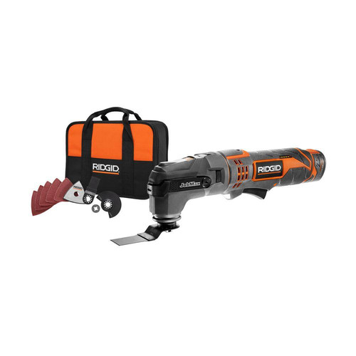Factory Reconditioned Ridgid ZRR9700 12V Cordless JobMax Multi-Tool with Tool-Free Head