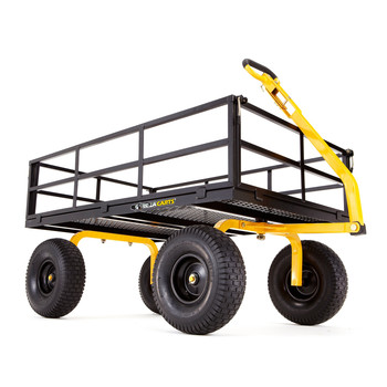Gorilla Carts GOR1400-COM 1,400 lb. Capacity Heavy-Duty Steel Utility Cart image number 0