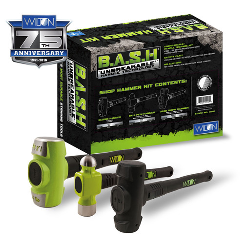 Wilton 11112 B.A.S.H Shop Hammer Kit