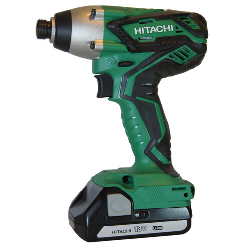 Factory Reconditioned Hitachi Wh18dgl 18v 1 3 Ah Cordless Lithium Ion 4 In Hex Impact Driver Kit