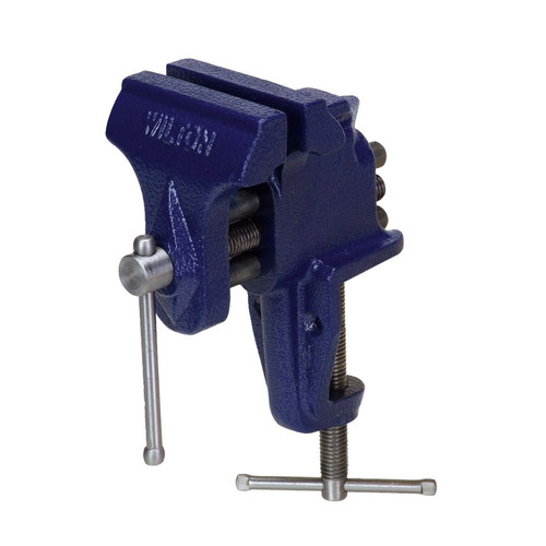 Wilton 33150 150, Bench Vise - Clamp-On Base, 3 in. Jaw Width, 2-1/2 in. Maximum Jaw Opening