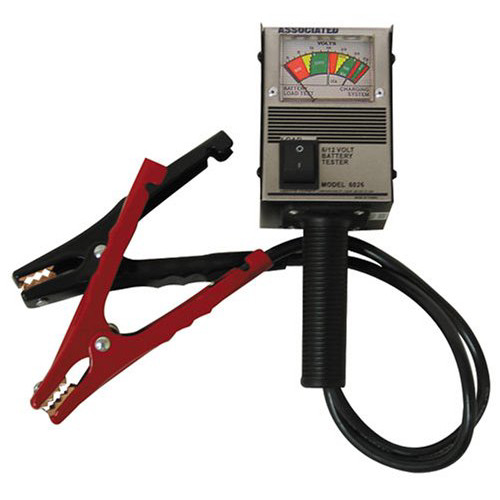 Associated Equipment 6026 6/12V Hand Held Load Tester image number 0