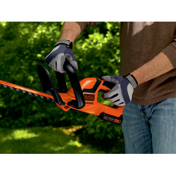 Factory Reconditioned Black & Decker LHT2220R 20V MAX Cordless Lithium-Ion 22 in. Dual Action Electric Hedge Trimmer image number 5