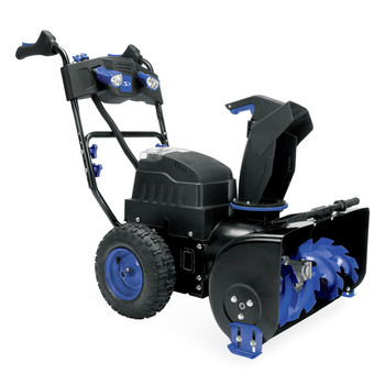 Snow Joe ION8024-XR 80V 24 in. Li-Ion 2-Stage 4-Speed Snow Blower with (2) 5.0 Ah Batteries image number 1