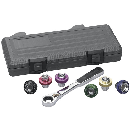 GearWrench 3870 7 pc. Magnetic Oil Drain Plug Socket Set image number 0