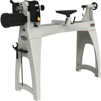 JET JWL-1640EVS 1.5 HP 16 in. x 40 in. Variable Speed Woodworking Lathe
