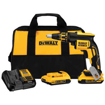 Factory Reconditioned Dewalt DCF620D2R 20V MAX XR Cordless Lithium-Ion Brushless Drywall Screwgun Kit