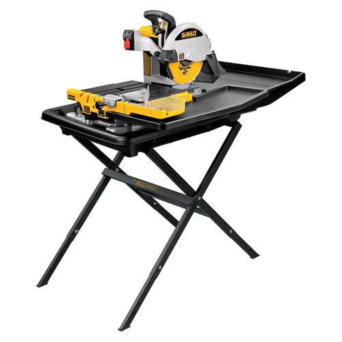 Dewalt D24000S 10 in. Wet Tile Saw with Stand