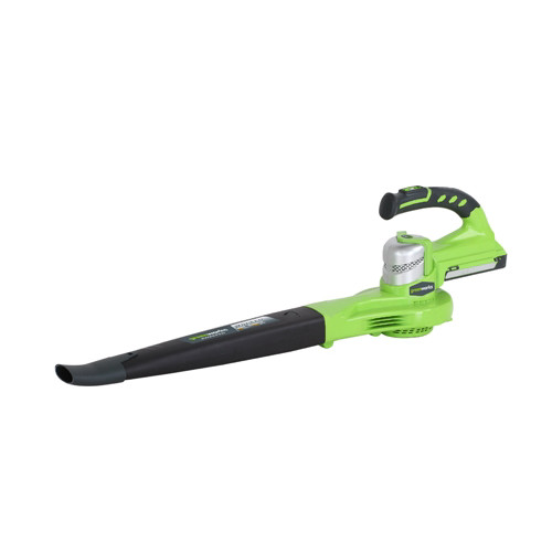 Greenworks 2400202 24V Cordless Lithium-Ion Two Speed Handheld Blower (Tool Only)