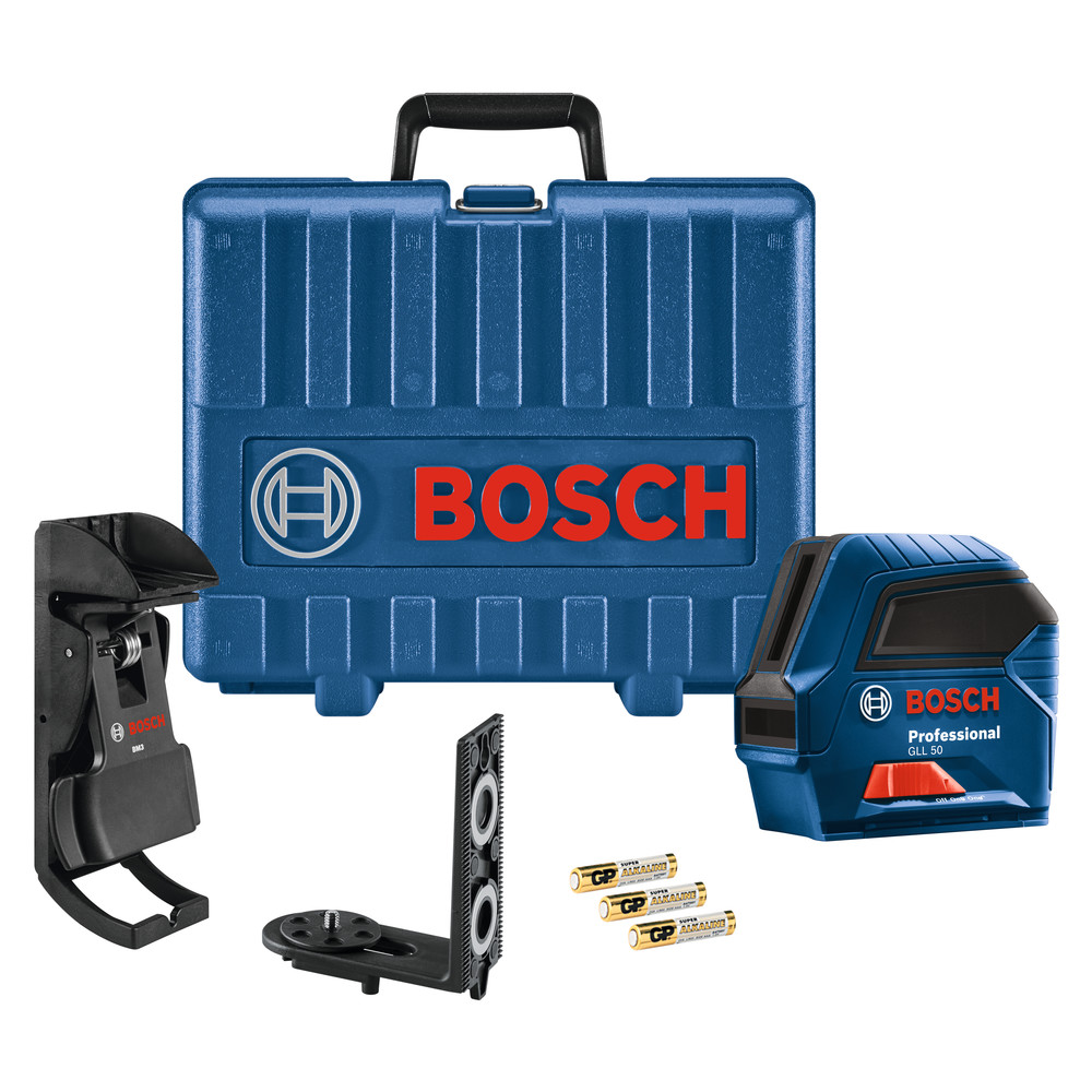 Bosch GLL50HC-RT Self-Leveling Cross-Line Laser Certified Re