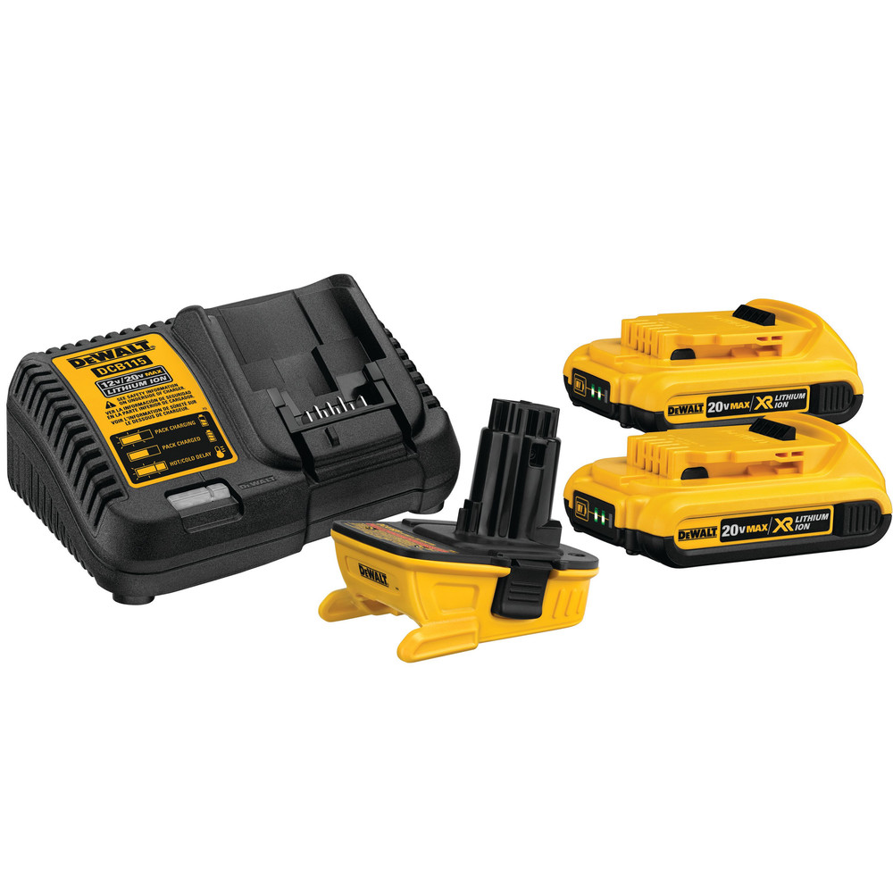 DEWALT 20V MAX Li-Ion Battery Adapter Kit for 18V Cordless T