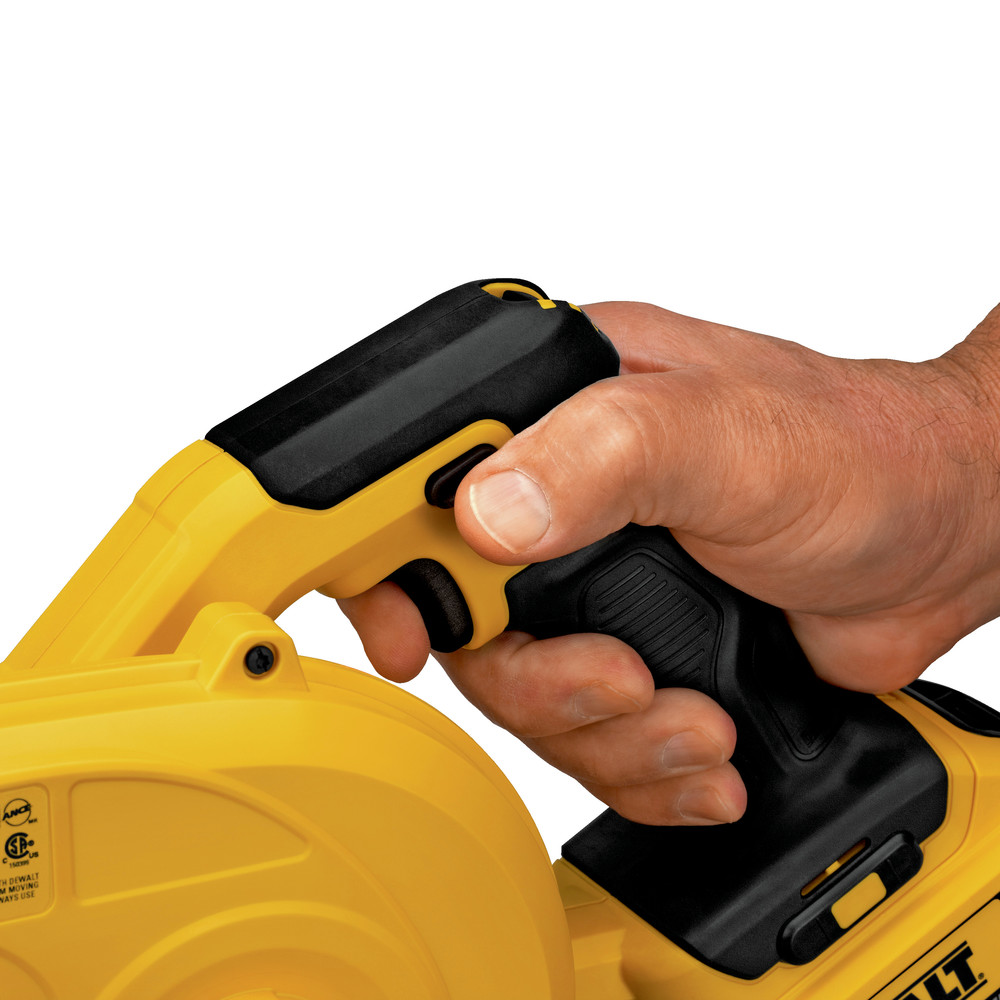 DeWalt-DCE100BR-20V-MAX-Cordless-Li-Ion-Jobsite-Blower-Tool-Only-Reconditioned thumbnail 5