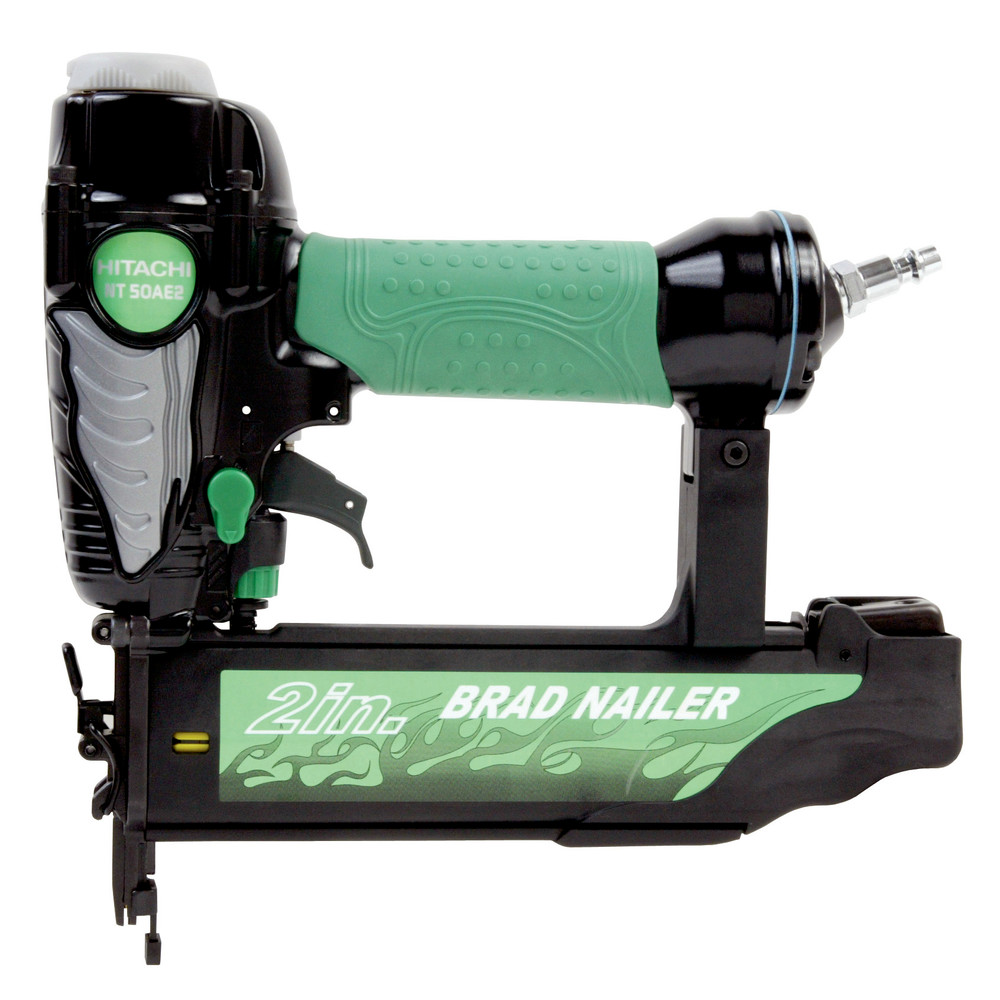 Hitachi 18-Gauge 2 in. Finish Brad Nailer Kit NT50AE2 Recon
