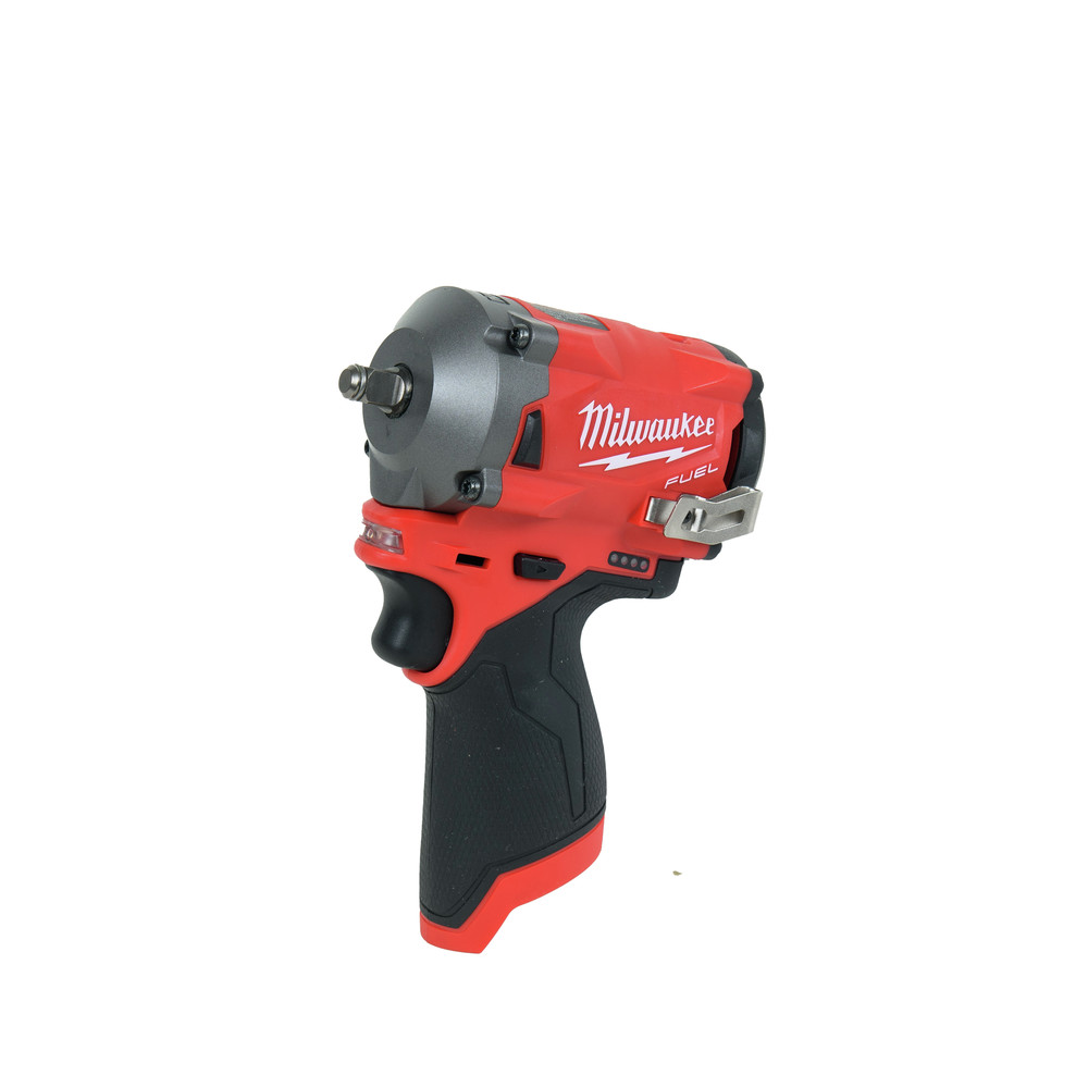 Milwaukee M12 FUEL Li-Ion 3/8 in. Stubby Impact Wrench 2554-20 New (Bare Tool)