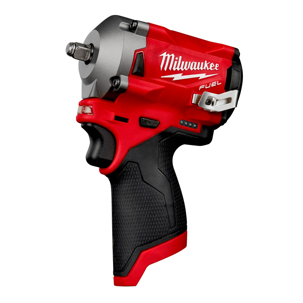 Milwaukee M12 FUEL Li-Ion 3/8 in. Stubby Impact Wrench 2554-20 New (Bare Tool) 3