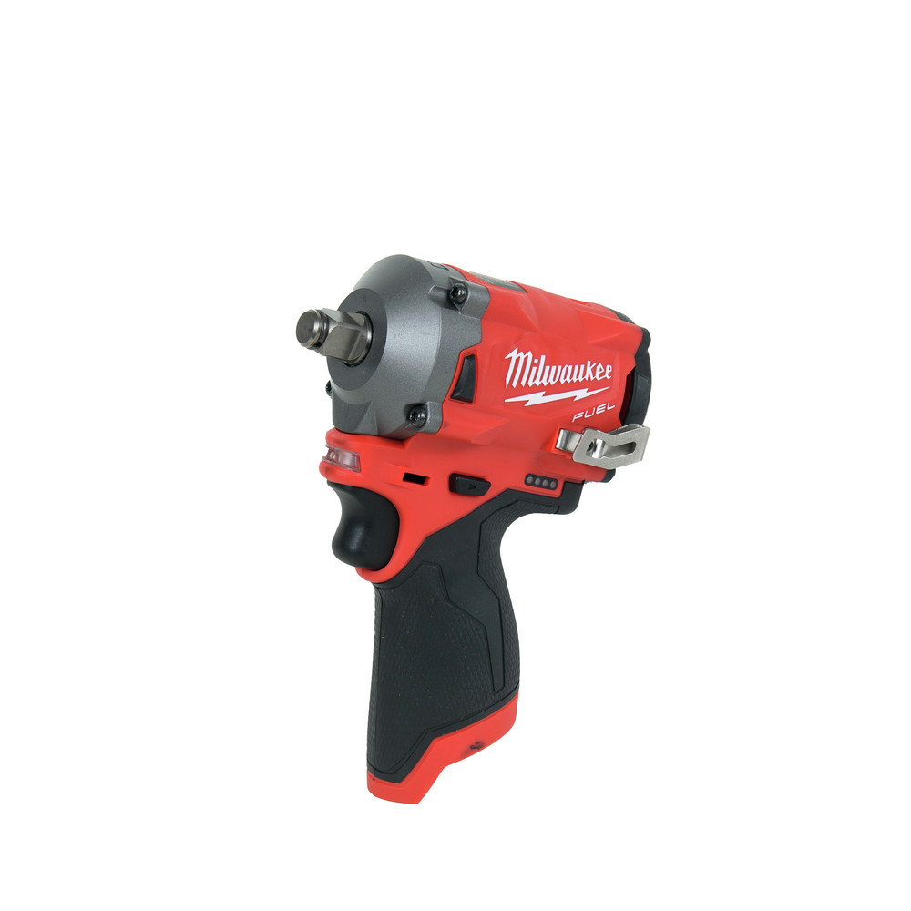 Milwaukee 2555-20 M12 FUEL Li-Ion 1/2 in. Stubby Impact Wrench (BT) New