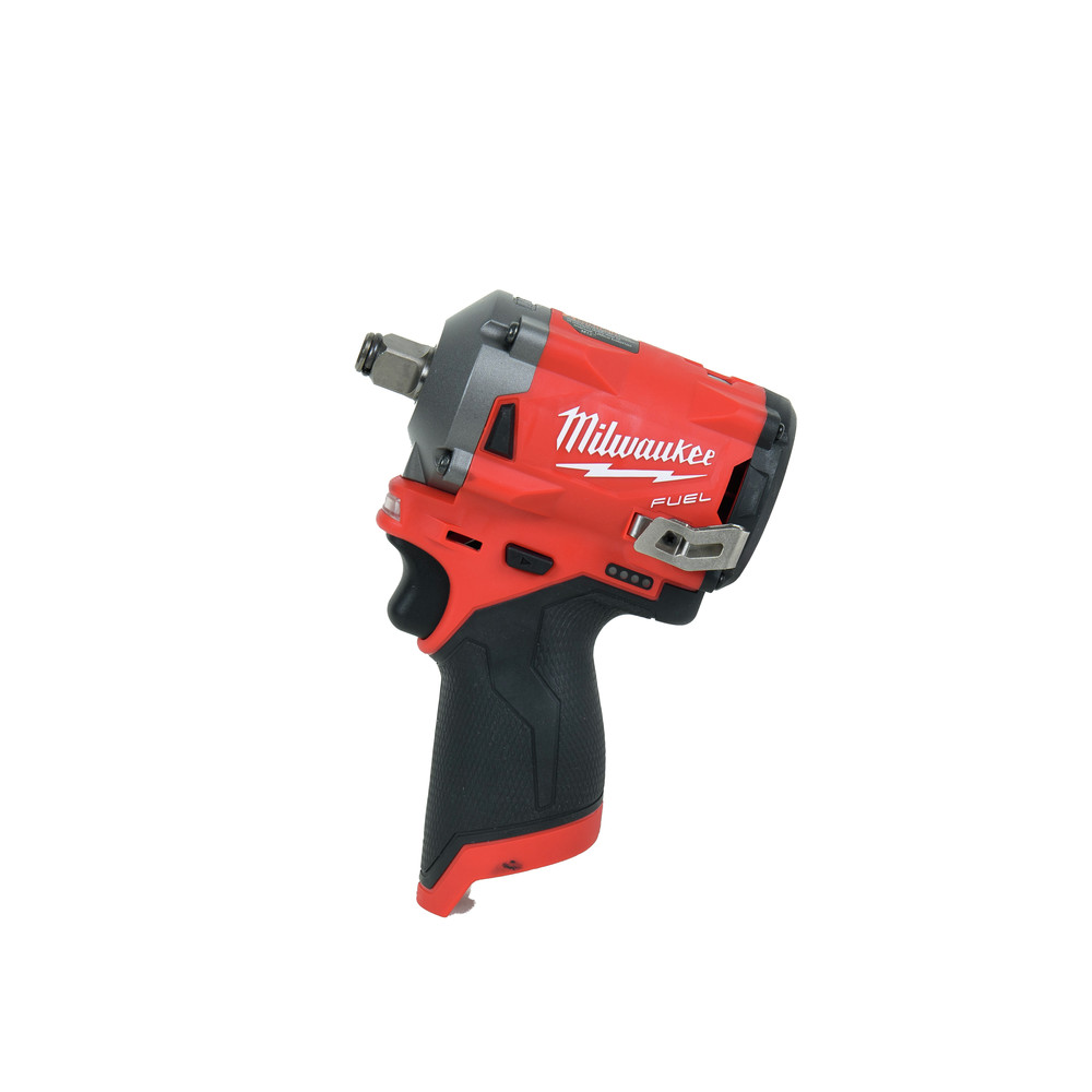 Milwaukee 2555-20 M12 FUEL Li-Ion 1/2 in. Stubby Impact Wrench (BT) New 2