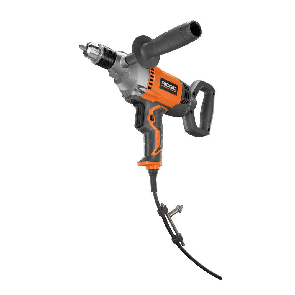 Ridgid-9-0-Amp-1-2-in-Spade-Handle-Mud-Mixing-Drill-R7122-Recon